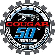 CCOA Cougar 50th Anniversary Logo
